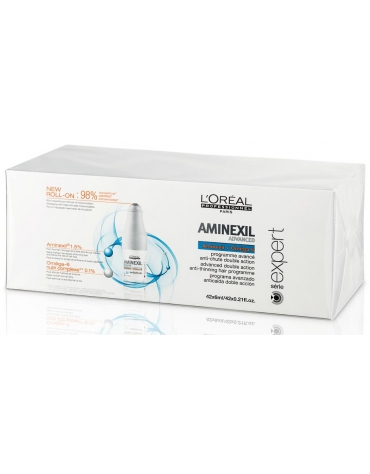 Serie expert Density Advanced Anticaida Aminexil 42 uds 6ml