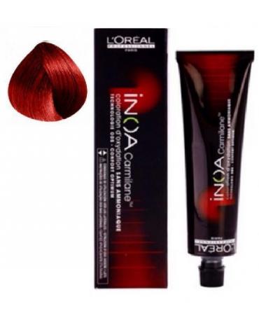 Inoa Tinte SIN AMONIACO C6,64 Rubio Oscuro Rojo Cobrizo 60g