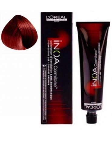 Inoa Tinte SIN AMONIACO C6,66 Rubio oscuro rojo profundo 60g