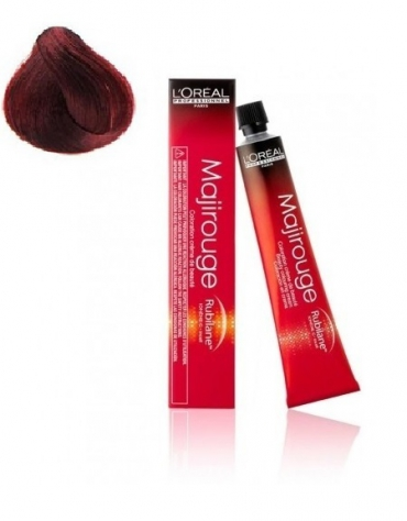 Majirouge Tinte 6,60 Rubio Oscuro Rojo intenso 50ml