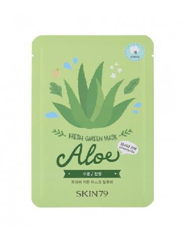 Skin79 Fresh Garden Mask Aloe 23g hidratacion & suavidad