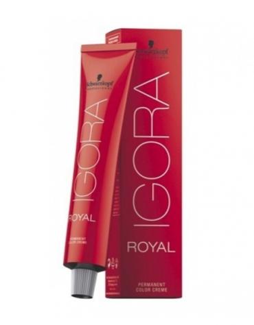 Igora Royal Tono Mezcla Tinte Argenta 0-11 + Oxigenada