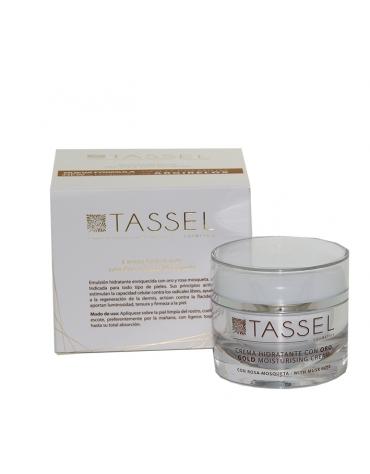 Crema hidratante con Oro y Rosa Mosqueta TASSEL 50ml