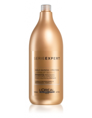 Serie Expert Gold Quinoa + Protein Absolut repair Champú 1500 ml