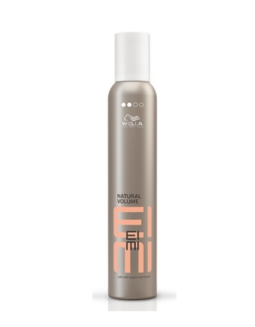 Wella natural volume espuma eimi 500ml